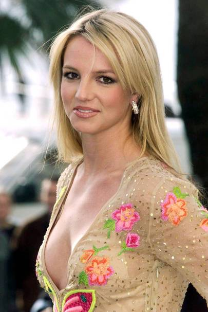 spears naked britney Young