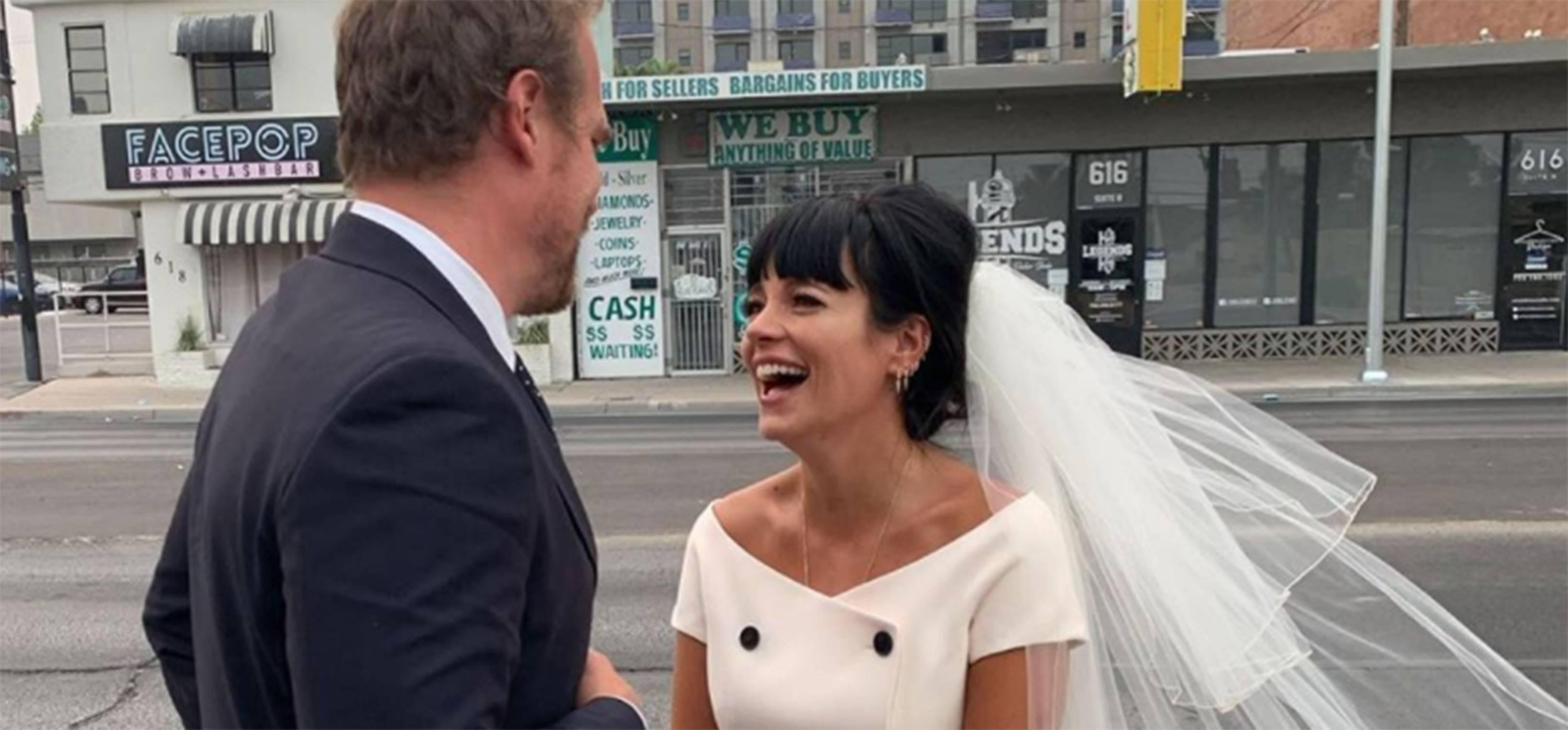 Best Iconic Celebrity Wedding Dresses Glamour Uk