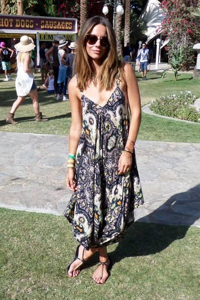 Sunnie Brook Jones, Hairdresser, Coachella Festival