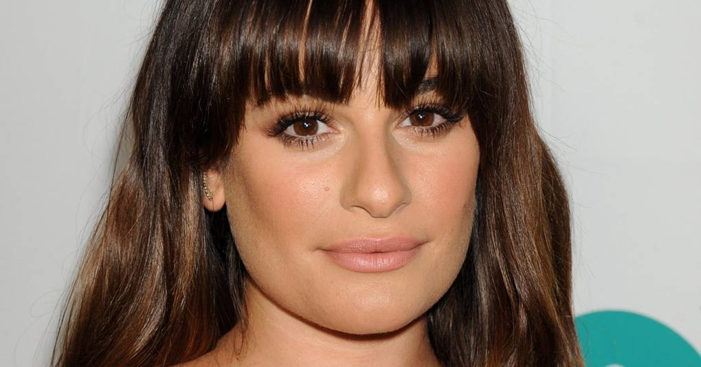 Incredible Lea Michele Look Book Celebrity Hair And Hairstyles Glamour Uk Natural Hairstyles Runnerswayorg