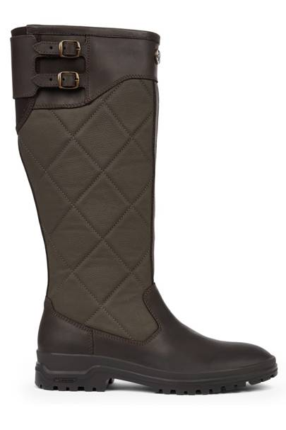 LE CHAMEAU: Quilted Knee-High Boots