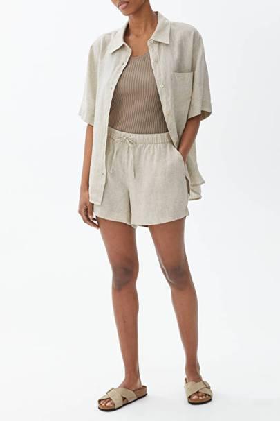 Best linen pyjama shorts for women