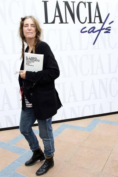 Patti Smith's Converse