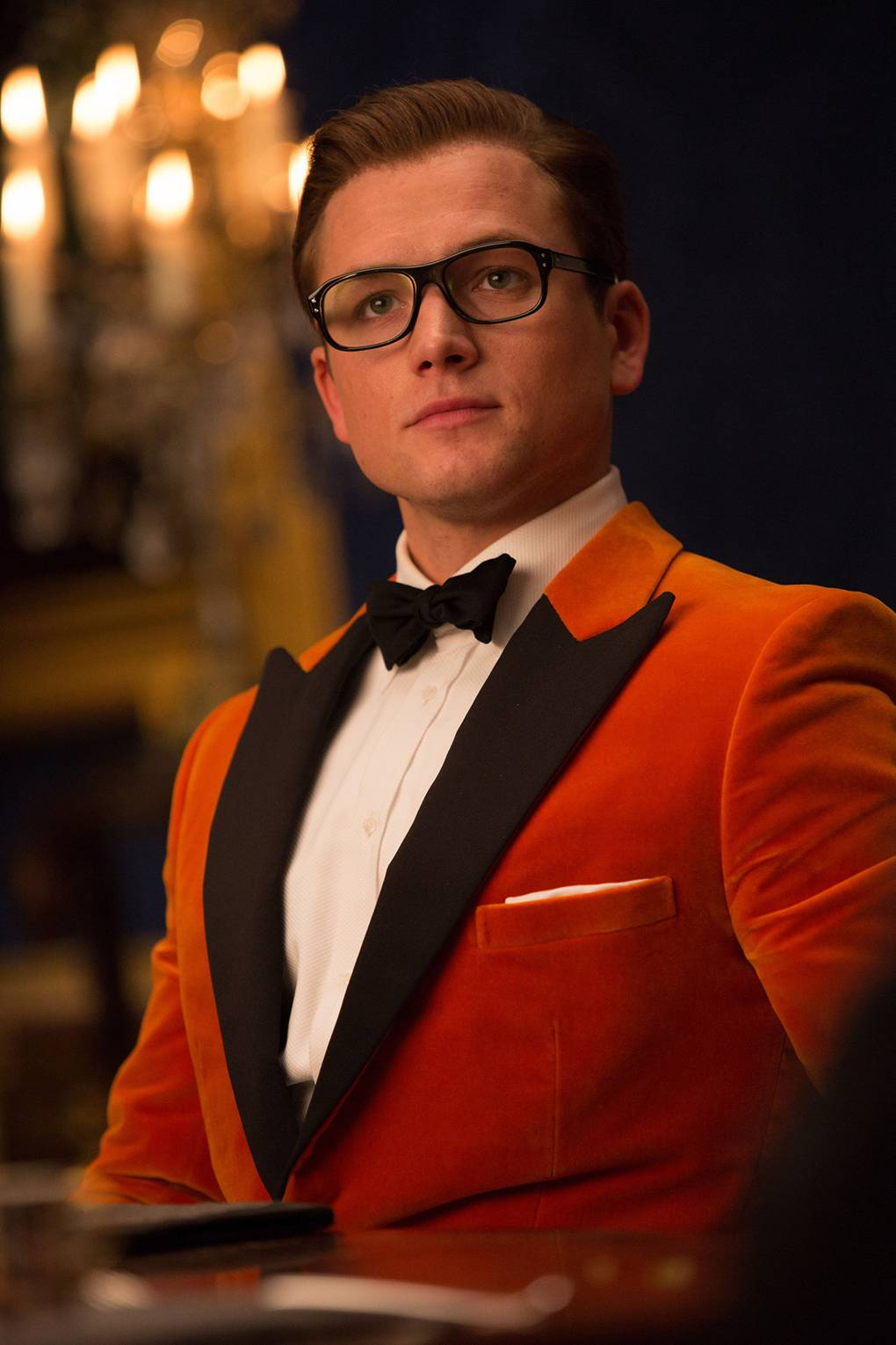 "Taron Egerton: ""There's so many pictures where I look like I want to marry Colin Firth."""