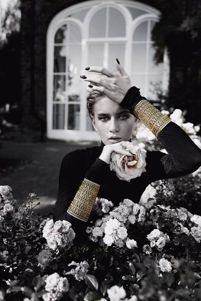 The Goddess Gold Cuff by Wow Fine Jewelry