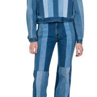 SUSTAINABLE DENIM 2021 - STRIPED JEANS