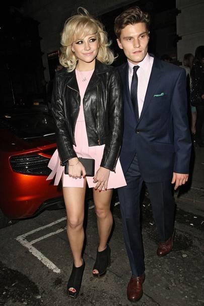 Pixie Lott & Oliver Cheshire