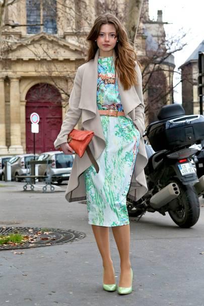 Ioana Brezan, Student, Paris