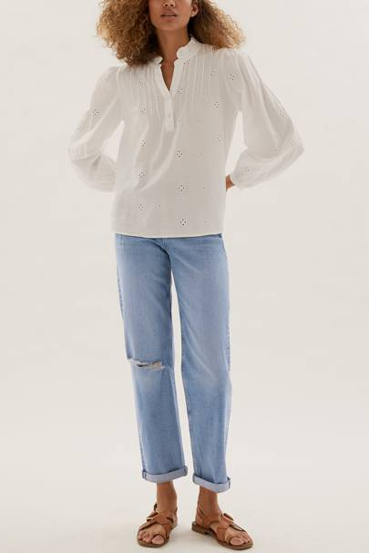 Tall cropped jeans