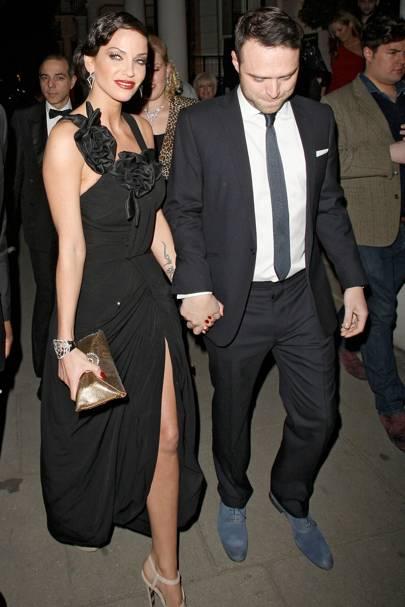 Sarah Harding & Tom Crane