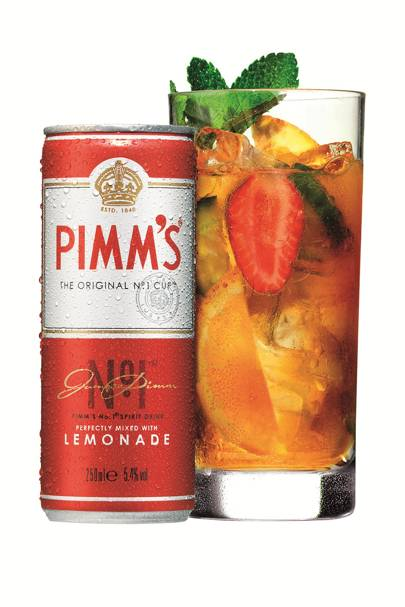Swap your usual Pimm's mix…