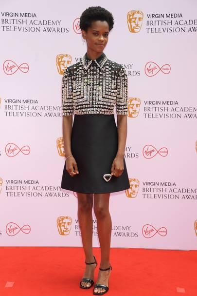 BAFTA TV Red Carpet: Letitia Wright