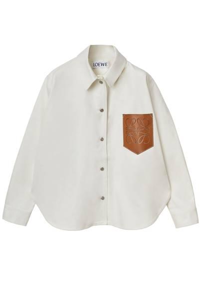 Best Denim Shirts - Cream Denim
