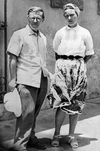 Jean-Paul Sartre & Simone de Beauvior