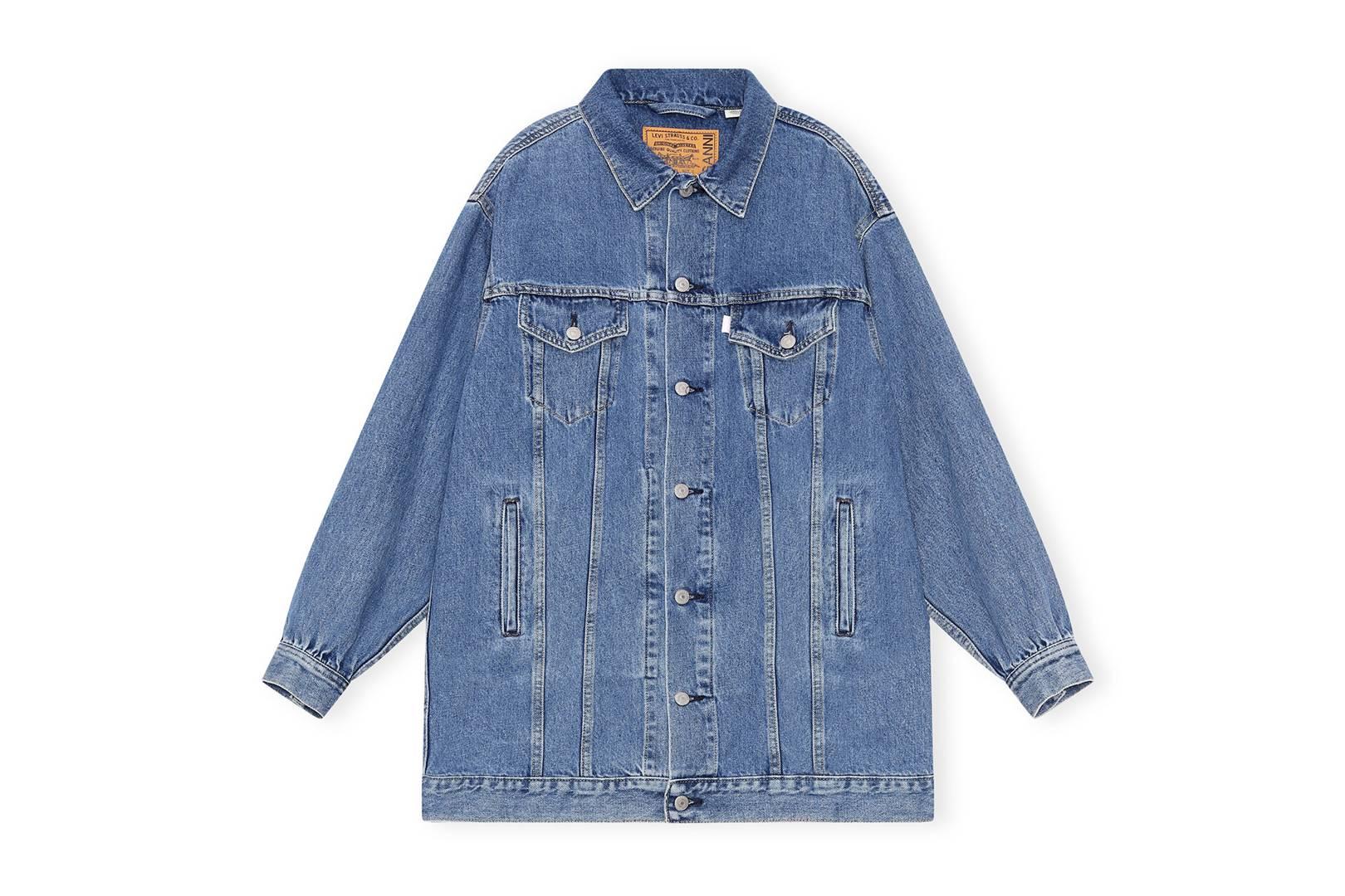 Ganni X Levi's Medium Indigo Denim Shirt, £375, Ganni