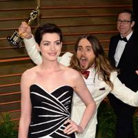 Jared Leto & Anne Hathaway