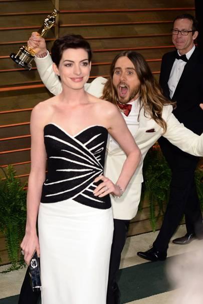 Jared Leto & Anne Hathaway