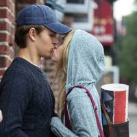 Suki Waterhouse and Ansel Elgort in Jonathan