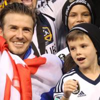David Beckham & Cruz Beckham