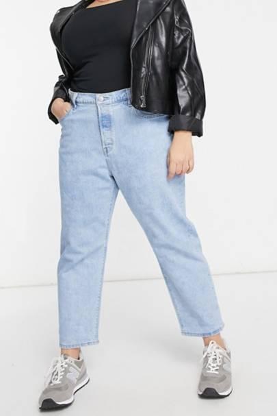 Best Jeans For Curvy Women: Levi's Plus Jeans