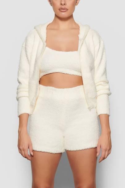 Skims Loungewear: the hoodie