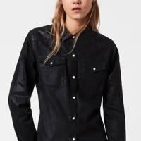 Best Denim Shirts - Coated Denim