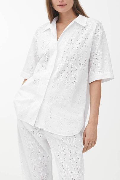 The Broderie Anglaise shirt
