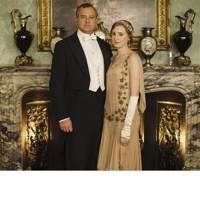 Hugh Bonneville and Laura Carmichael in Downton Abbey