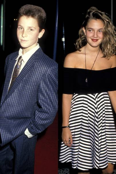 Christian Bale & Drew Barrymore
