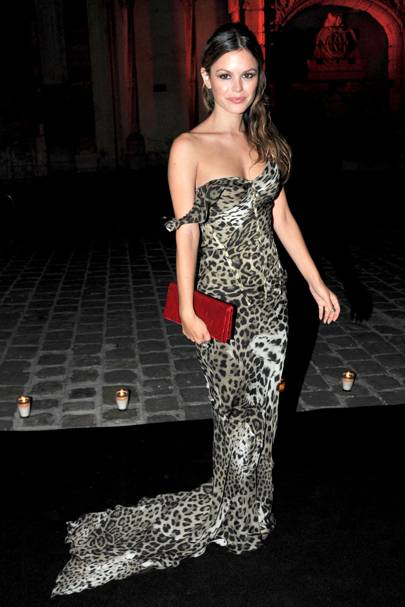 DO #6: Rachel Bilson in Roberto Cavalli at Paris Fashion Week
