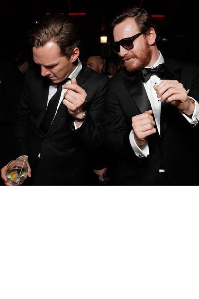 Benedict Cumberbatch & Michael Fassbender