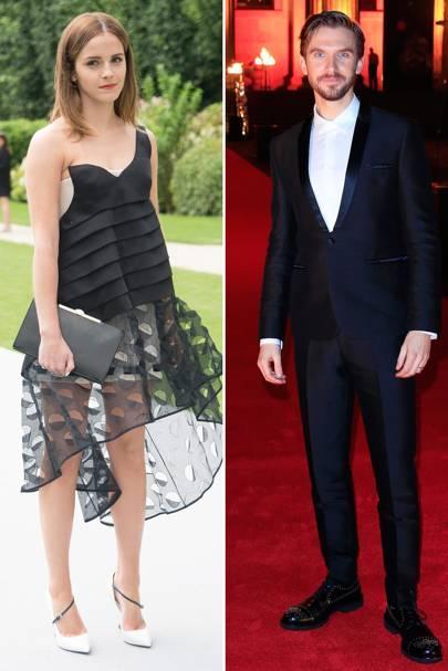 Glamour: Emma Watson / Dan Stevens 58%