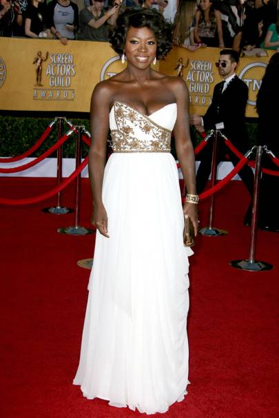 Viola Davis at the SAGs 2012