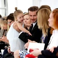 David & Harper Beckham