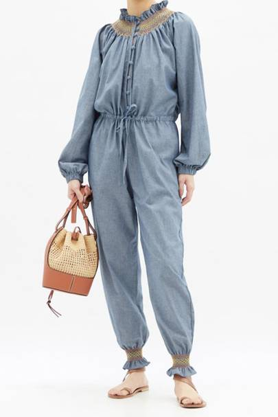 Best chambray jumpsuit