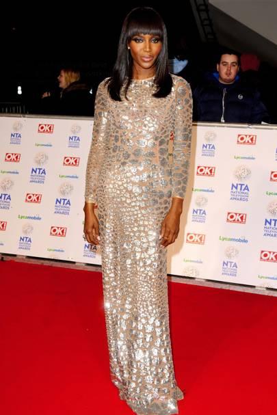 National Television Awards Ntas Dresses Red Carpet Celebrity Fashion Glamour Uk