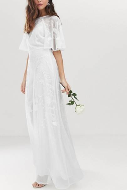 Best ASOS wedding dress for a festival-themed wedding