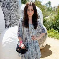 Lily Collins at Coachella 2012