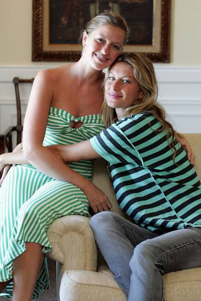 Gisele & Patricia Bundchen