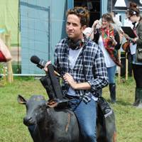 Nick Grimshaw at Glastonbury