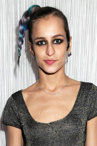DON'T #21: Alice Dellal's multi-coloured plait - May