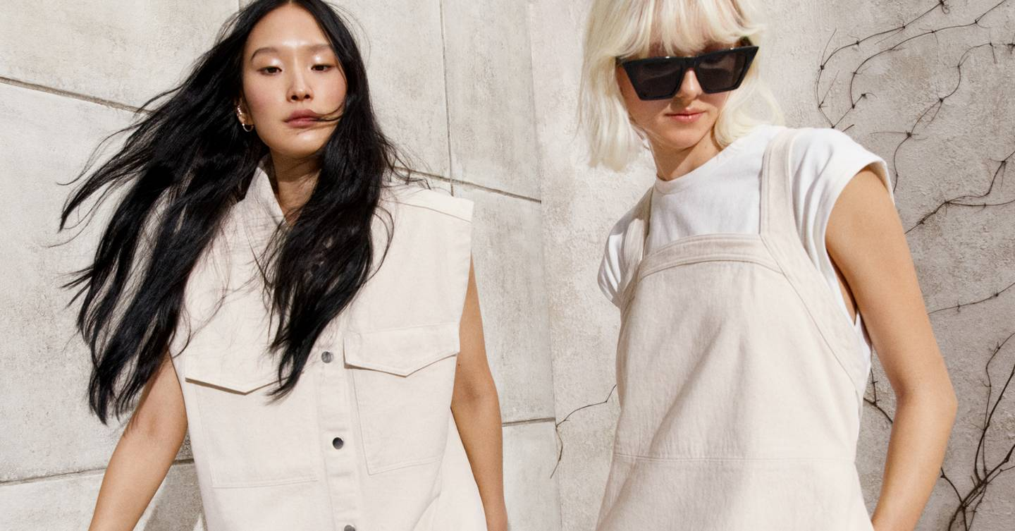 H&M just unveiled its spring collection – and if you're into super chic tonal neutrals then this one's for you