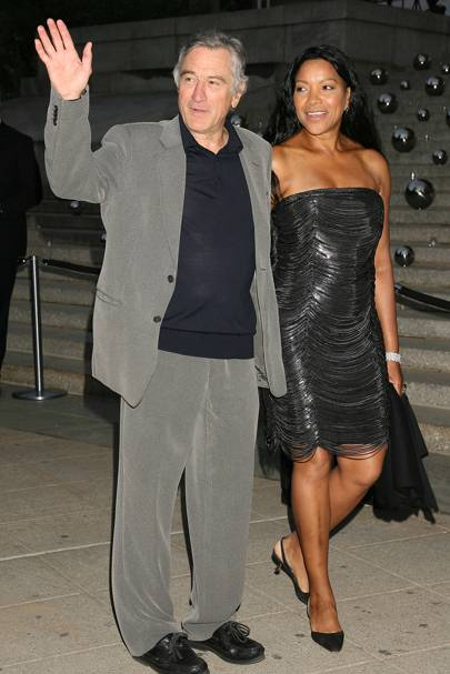 Robert De Niro & Grace Hightower