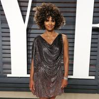 Halle Berry at the Vanity Fair after-party