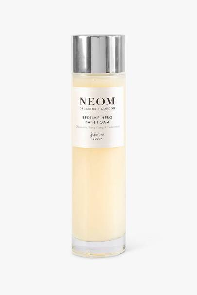 Best NEOM products: the bath foam