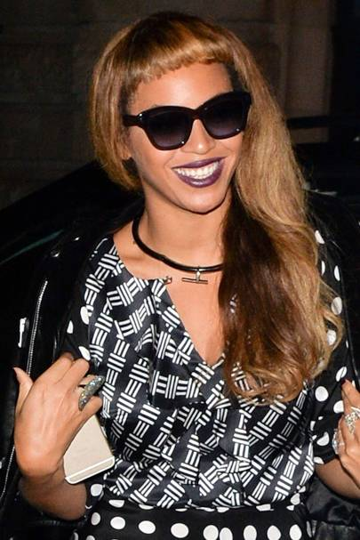 Beyonce Knowles Natural Hair Hairstyles Beauty Looks Glamour Uk