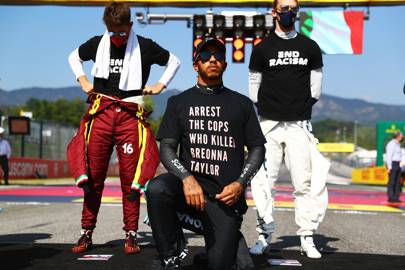 How black public figures like Lewis Hamilton have shown that racism is a human rights issue