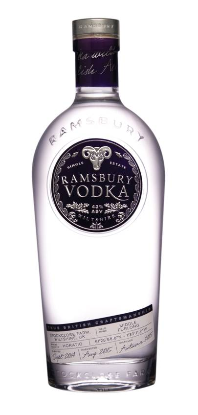 Ramsbury Single Estate English Vodka