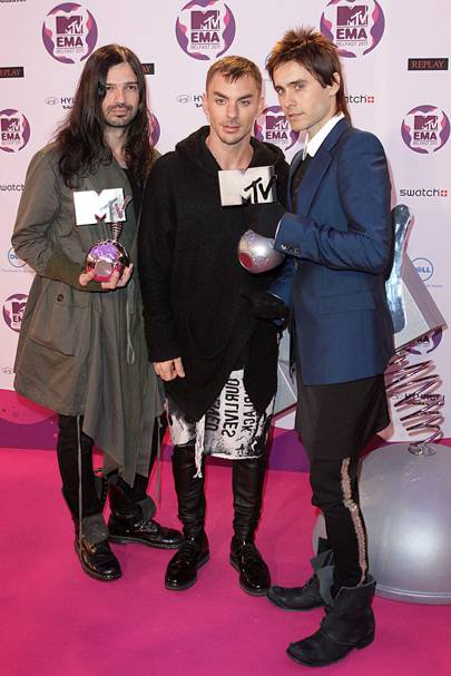 30 Seconds To Mars at the MTV EMAs 2011