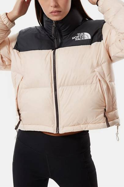 The North Face Puffer Jacket Women: the pink puffer